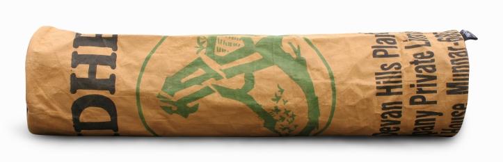 BlooM Ragbag yoga bag - green black