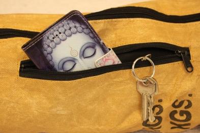 BlooM Ragbag yoga bag - pocket in front